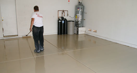 Garage Floor Epoxy Epoxy Flooring San Diego California